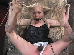 Hogtied And Severely Punished