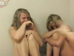 two sisters forced to three some