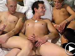 The kinkiest fucking bisexual threesome ever