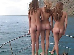 nude yacht ride