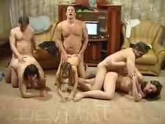 Family enjoys fucking together