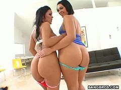 Two fine asses for the ass freaks