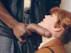 Vintage Porn Big black cock encounter