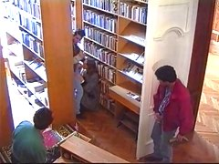 russian super model fucked in library