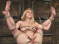 Hogtied And Punished Without Mercy