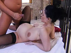 Pregnant slut cant get enough sex